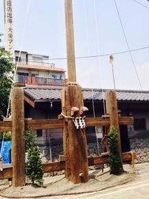 祭りの柱.JPG